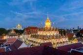 Loha Prasat at Wat Ratchanadda in Bangkok,Thailand — Stock Photo