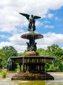 Bethesda Fountain — Stock Photo
