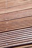 Robust decking — Stock Photo