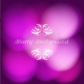 Vector blurry background with bokeh — Stock Vector