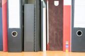 Variety of files — Foto de Stock