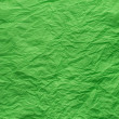 Green crepe paper background — Stock Photo #68878621