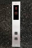 Výtah tlačítko. — Stock fotografie
