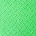 The old green diamond metal plate — Stock Photo #56023127