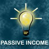Passive income business concept. — Stock Photo