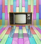 Old vintage TV — Stock Photo