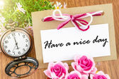 Have a nice day. — Stock Photo