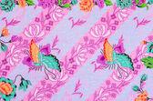 Batik sarong patroon achtergrond in Thailand. — Stockfoto