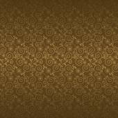 Seamless pattern with golden flowers — Stock Vector