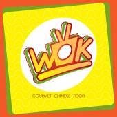 Vector cartoon illustration of noodles — Stock Vector
