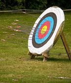 Archery target — Stock Photo