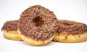 チョコレート ドーナツ — ストック写真