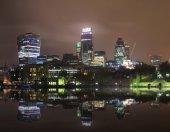 London nightscape — Stock Photo
