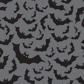 Bat seamless dark pattern eps10 — Stock Vector