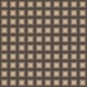 Squares seamless pattern light brown colors — ストックベクタ