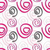 Abstract seamless pattern pink color  — Stock Vector