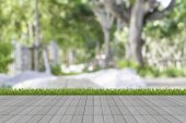 Grass and mortar wall — Stock Photo