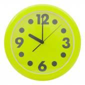 Orologio da parete verde — Foto Stock