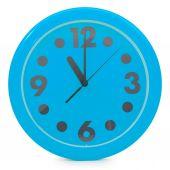 Orologio da parete blu — Foto Stock