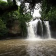 Waterfall set collection montage, Haew Su Wat Waterfall tropical forest, Khao Yai National park, Thailand. — Wideo stockowe #59026801