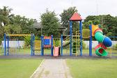 在公园的儿童游乐场 — 图库照片