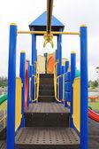 Children's playground at park — Foto de Stock