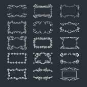 Elementos dibujados a mano — Vector de stock