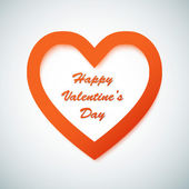 Feliz día de San Valentín fondo — Vector de stock