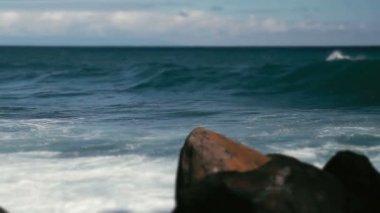 1080p, Huge Waves On Hawaii — Stock Video