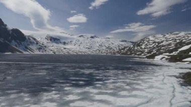 природа и пейзажи норвегии — Стоковое видео