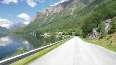 Motionride Norway, Cameramount — Stock Video