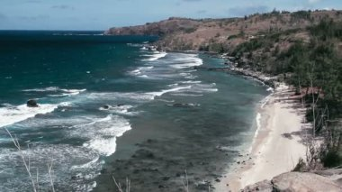 1080p, The worlds best and most beautiful beaches on the planet on Oahu, Kaui, Big Island and Maui — Stock Video