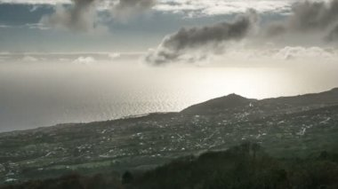 Fullhd zaman atlamalı, La Palma, Brena Alta — Stok video