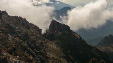 FullHD Time lapse, La Palma, Roque De Las Muchachos — Stock Video