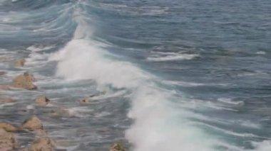 Shoreline, Ile de la Reunion — Stock Video