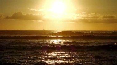 Sunset, Ile De La Reunion — ストックビデオ