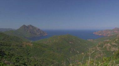 Galeria Viewpoint, Corsica — Stockvideo