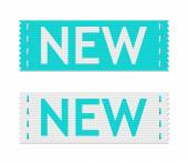 Vector new signs — Stock Vector