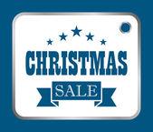 Vector christmas sale — Stock Vector
