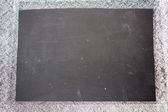 Blank Blackboard — Stock Photo