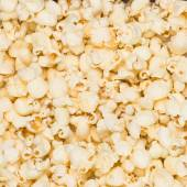 Photo realistic popcorn background — Stock Vector