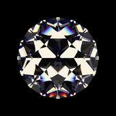 Shiny white diamond — Stock Photo