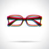 Glasses icon. — Stock Vector