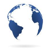 Jorden världen — Stockvektor