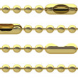 Seamless golden chain — Stock Photo #64770455