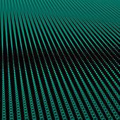 Abstract bokeh dots waves — Stock Photo
