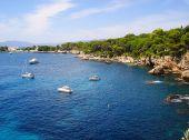 View cape Antibes — Stock Photo