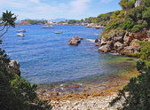 Bay cape Antibes — Stock Photo