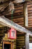 Little Christmas Lantern — Stock Photo