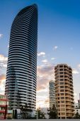 Hotel Tower In The Gold Coast City — Стоковое фото